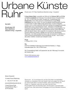 Wandersalon #10: Hans Eijkelboom