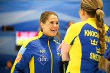Lag Hasselborg klara för semifinal efter storseger mot Ungern med 13-1