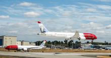 Norwegians globala expansion fortsätter med en passagerartillväxt på 14 procent i augusti
