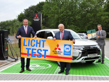 Licht-Test 2019: Mitsubishi Motors und ZDK sind Partner