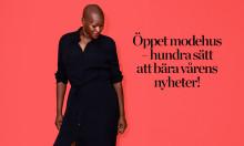Öppet modehus hos Åhléns – över 100 personer deltog i en av Sveriges största modefotograferingar