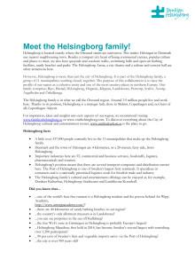Meet the Helsingborg Family