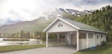 Tidsbesparande byggkoncept från jubilerande Norrlandsföretag på Nordiska Trädgårdar-mässan