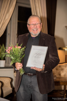 Jörgen Stenberg, grundaren av NMI och SIS, mottog utmärkelsen Årets Förebildsentreprenör på Entreprenörsgalan Norr