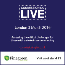 Finegreen exhibiting at Commissioning Live next month!