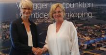 Jönköping skakade hand med Sverigeförhandlingen