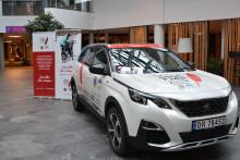 Peugeot og Lions Røde Fjær 2020 har startet et spennende samarbeid
