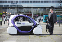 Driverless cars tested in UK for first time