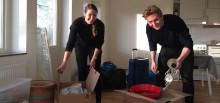 Premiärinflytt i Stena Fastigheters nya studentbostäder i Stockholm
