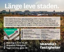 Almedalen: Länge leve staden