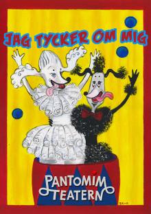 Pantomimteatern presenterar stolt Jag tycker om mej – för alla stora och små barn från 3 år