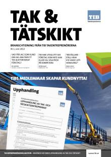 Tak & Tätskikt Nr1 2012