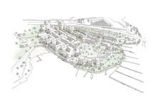 Arkitema ritar nytt område i Vårby