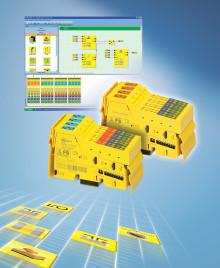 Hög flexibilitet av säkerhet med hjälp av SafetyBridge teknologi