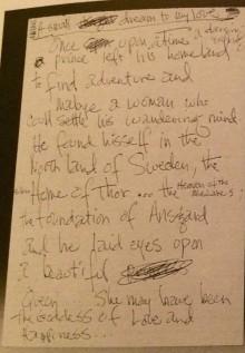 När Jimi Hendrix ville förföra mig med en dikt