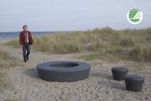 out-sider lancerer Nordens første svanemærkede udemøbler i genbrugsplast