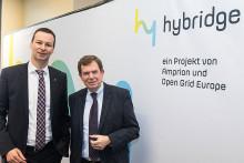 """""""Hybridge"""": OGE und Amprion bauen 100-MW-Power-to-Gas-Anlage im Emsland"""