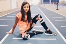Friidrottstalangen Ayla Hallberg Hossain nya ambassadör för En Frisk Generation