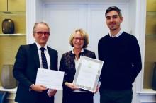 Skadevernprisen 2017 til Stiftelsen Organdonasjon