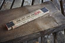 Hultafors lanserar 240 cm lång tumstock