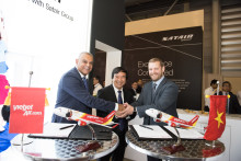 Satair Group, PALL Aerospace and VietJet sign contract for Avionics Cooling  Filtration system for VietJet's  A320 family fleet