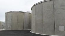 Betongreservoarer från Abetong - viktig del i avsaltningsverk på Gotland