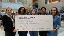 Hållbara Ålidhem skänker prispengar till Ålidhems kultur- och resurscentrum