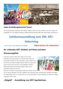 Ausstellung 500 Jahre KÄT