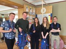 Polarbröd samarbetar med unga uppfinnare i Framtidsverkstad