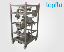 Tapflo  supplies diaphragm pumps for applications in the nuclear industry.