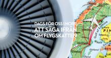 I dag skriver 98 politiker och företagare i Norr- och Västerbotten en gemensam debattartikel mot regeringens förslag om en flygskatt.