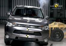 Fem stjärnor i Euro NCAP till nya Mitsubishi Outlander