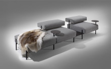 New platform sofa by Lucy Kurrein for Offecct.