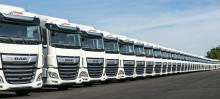 1500 DAF XF kuorma-autoa Girteka Logisticsille