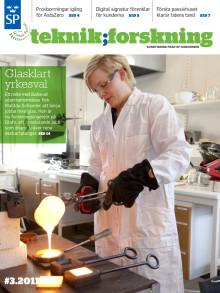 Teknik;Forskning 3/11 - Glasklart yrkesval