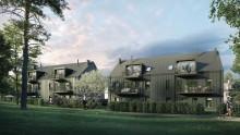 Nya flerbostadshus i trä byggs i Bromma – säljstart för 42 lägenheter