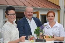 Eskil Erlandsson på besök i Astrid Lindgrens Värld