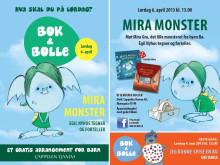 Velkommen til Bok & bolle 6. april: Mira, med Egil Nyhus