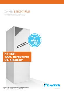 Produktblad Daikin Bergvärme