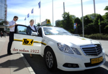 """Taxi Göteborg märker upp alla bilar med """"Schysta villkor"""""""