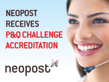 Neopost receives P&Q challenge accreditation