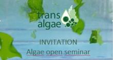Invitation to Algae seminar in Bodö