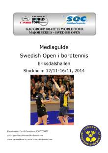 Mediaguide SOC i Stockholm 2014