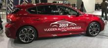 Täysin uusi Ford Focus on Vuoden Auto Suomessa 2019