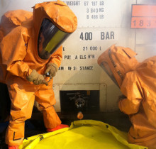 Trellchem® VPS Flash gastight chemical protective suit now certified in Europe