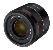 Samyang veröffentlicht Firmware-Update für Objektiv AF 45mm F1.8 FE