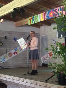 Erlaskolan i Falun firar in sommaren på Lilltorpet