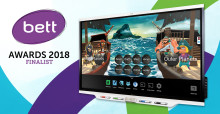 SMART Board iQ 7000 finalist till BETT Awards 2018