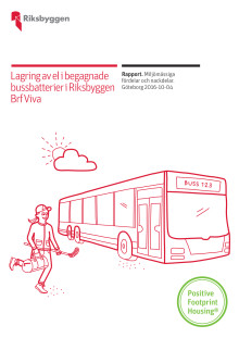 Rapport om energilagring i begagnade elbussbatterier