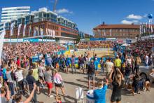 Årets Swedish Beach Tour den största på många år!